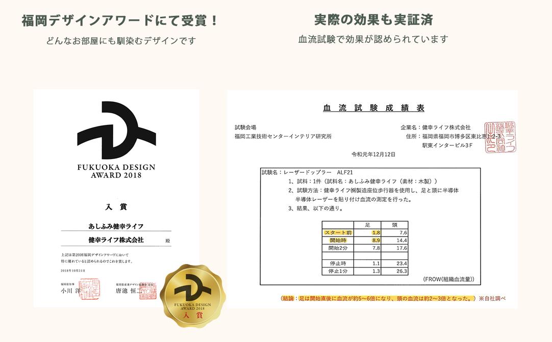 福岡デザインAword受賞